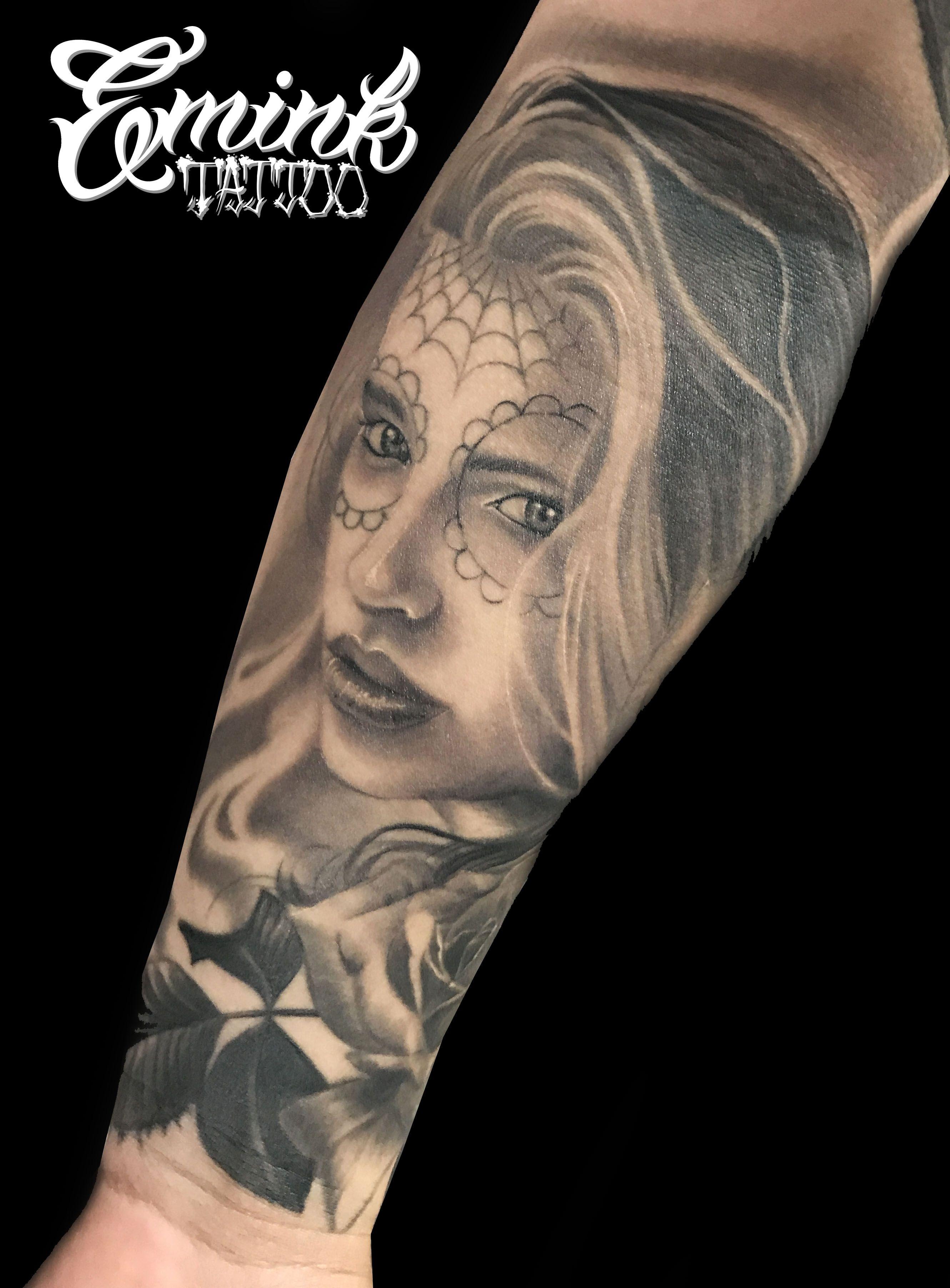 https://www.instagram.com/p/BSx4uSdgpJc/?taken-by=emink_tattoo #catrinatattoo #catrina #tattooed #tattooart #tattooink #tattoowork #tattoolife #tattoolifestyle #blackandgrey #blackandgraytattoo #chicanogirltattoo #chicanoblackandgrey #emink #eminktattoo #eminktattoostudio #vicenzatattoo #vicenzatattoostudio #padovatattoo #padovatattoostudio #veronatattooconvention