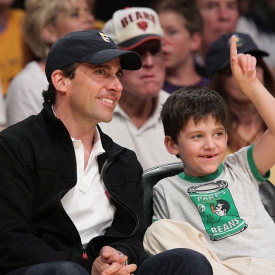 Celebaby Roundup Steve Carell Celebrity Kids Celebrity Dads