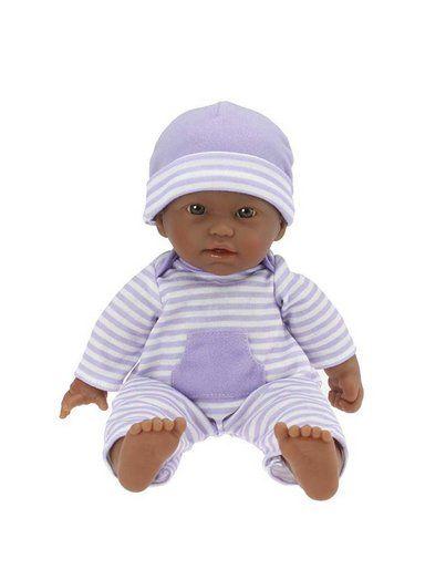 La Baby Hispanic 20-inch Soft Body in Purple Play Doll For Children 2 JC Toys