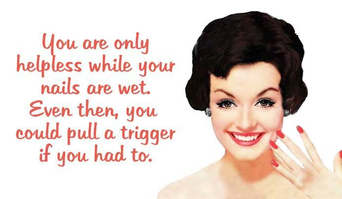 """Quirky Quotes by VintageJennie at Etsy.com   """"Trigger Happy"""""""