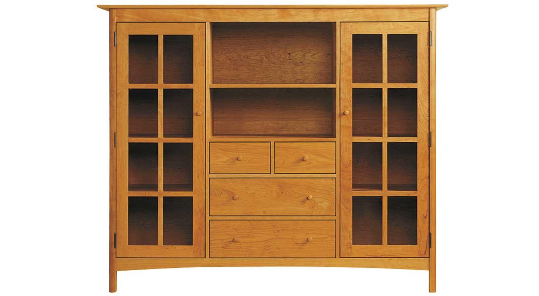 Circle Furniture Solid Wood Dining Storage Dining Furniture