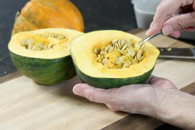 Slow Cooker Acorn Squash With Bacon And Brown Sugar Recipe