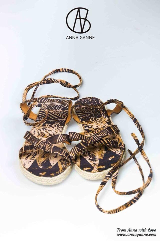 Женские летние сандалии 2015 от Anna Ganne