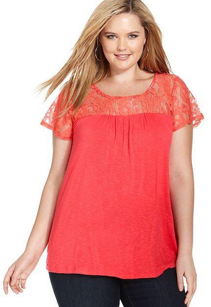 1a6d85f3b Blusas baratas plus size 3 – Vestidos tallas extras 2018