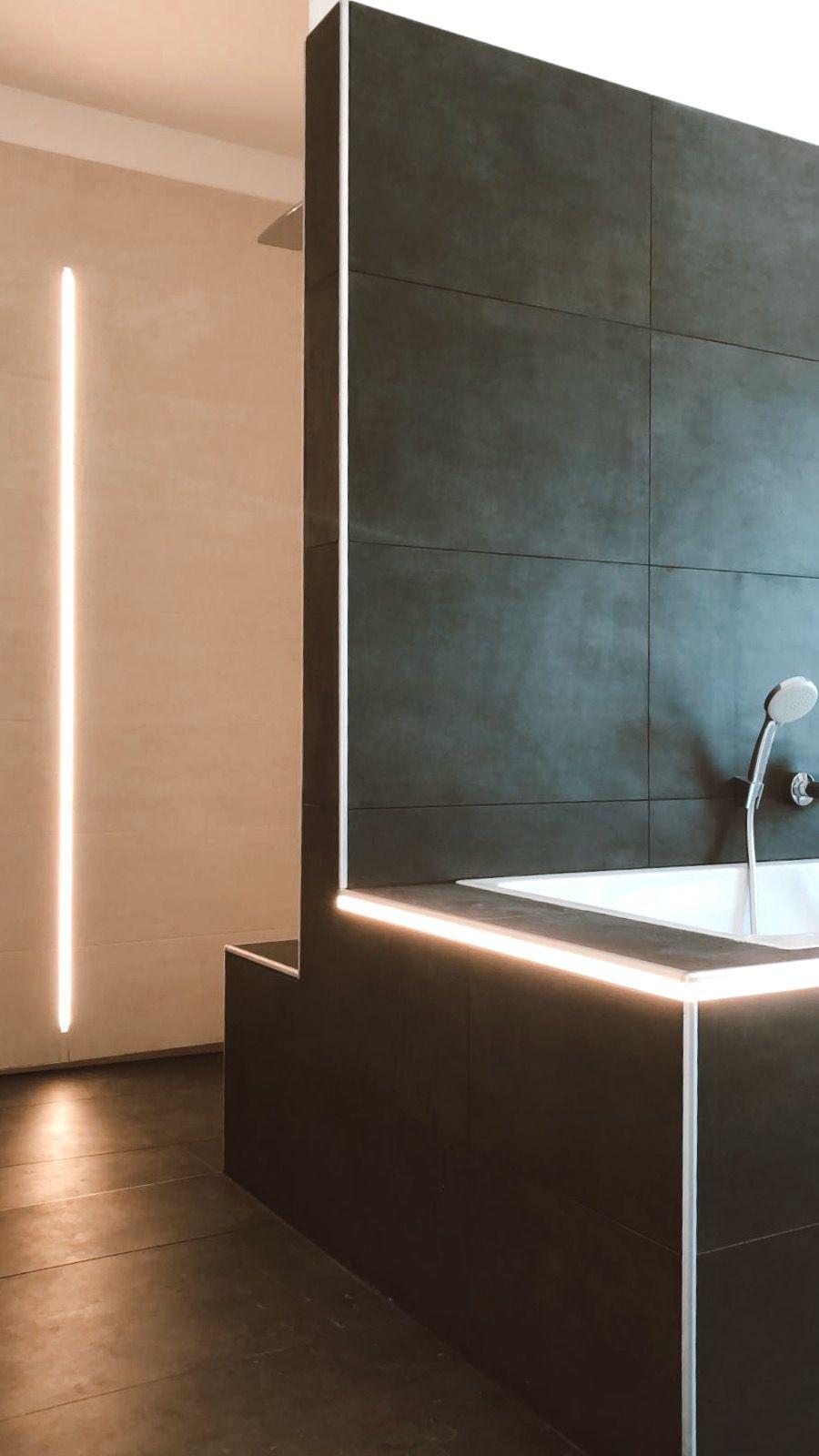 Licht Design Bad Mit Led Schienen Beleuchtungskonzepte