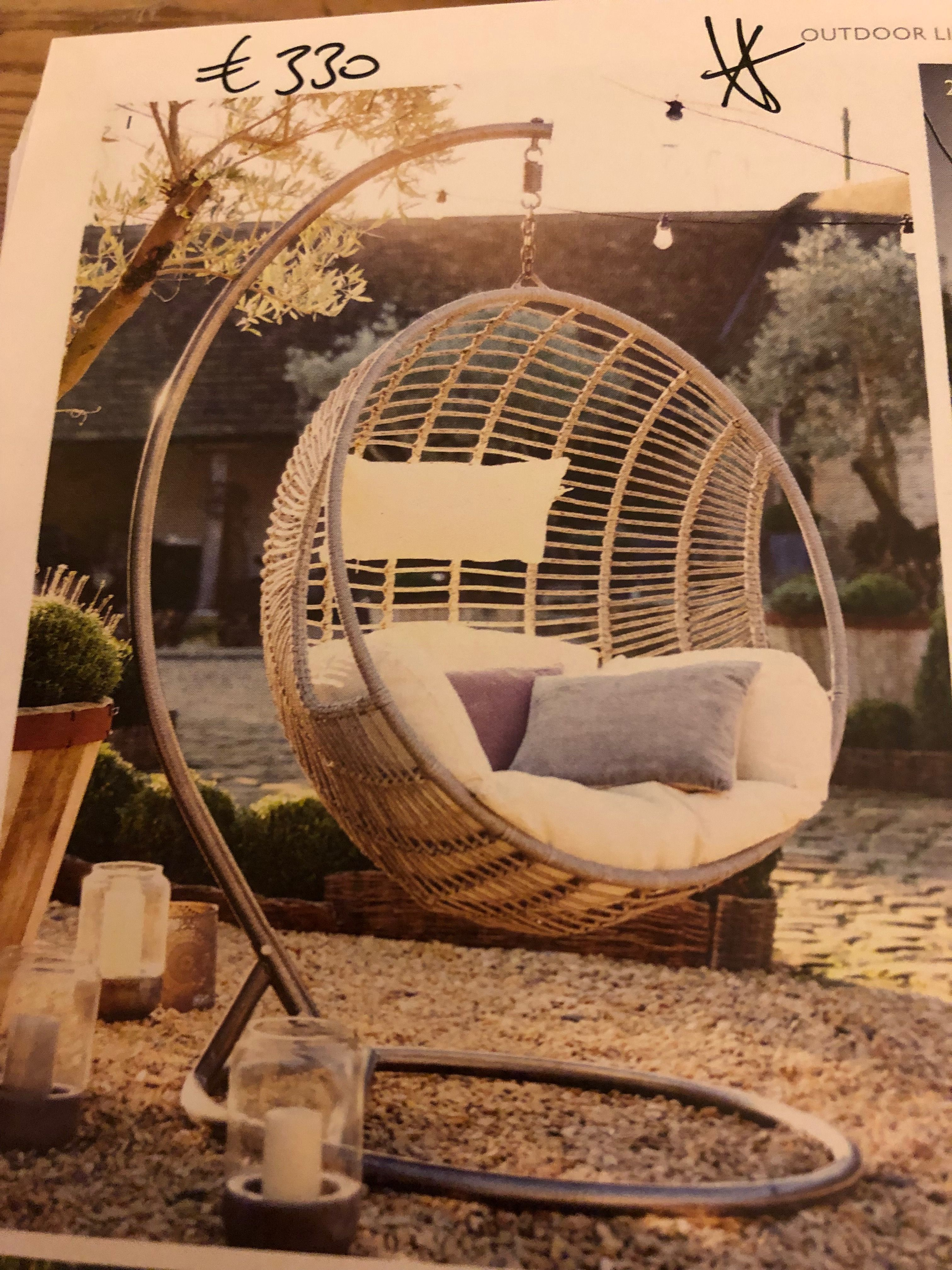 Pin by Susie Kew on Garden Hanging chair outdoor