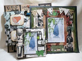 Hanifa Scraps: Vino & Aloe Paper Pad by Canvas Corp Brands