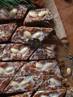Nürnberger Elisenlebkuchen vom Blech – La Crema