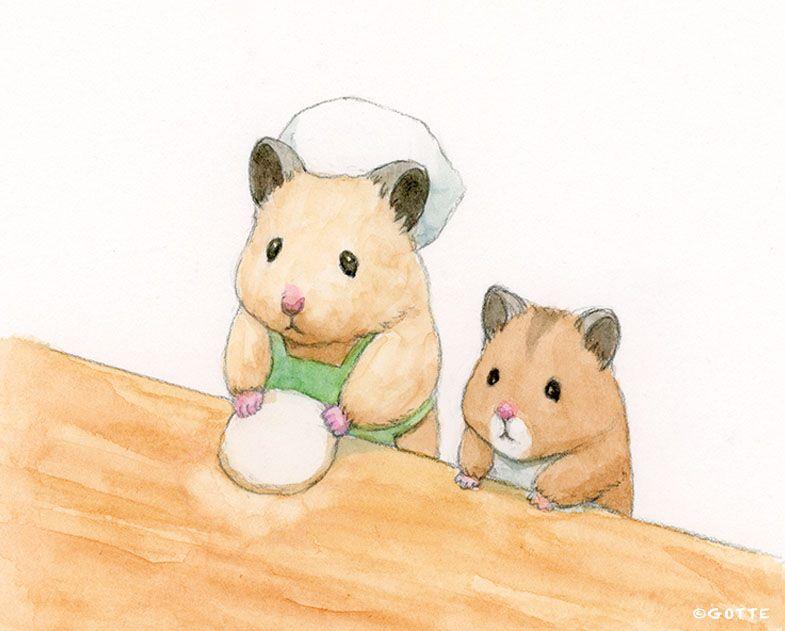 Gotte Hamsterpainter On Twitter Cute Cartoon Wallpapers Hamster Cartoon Cute Hamsters