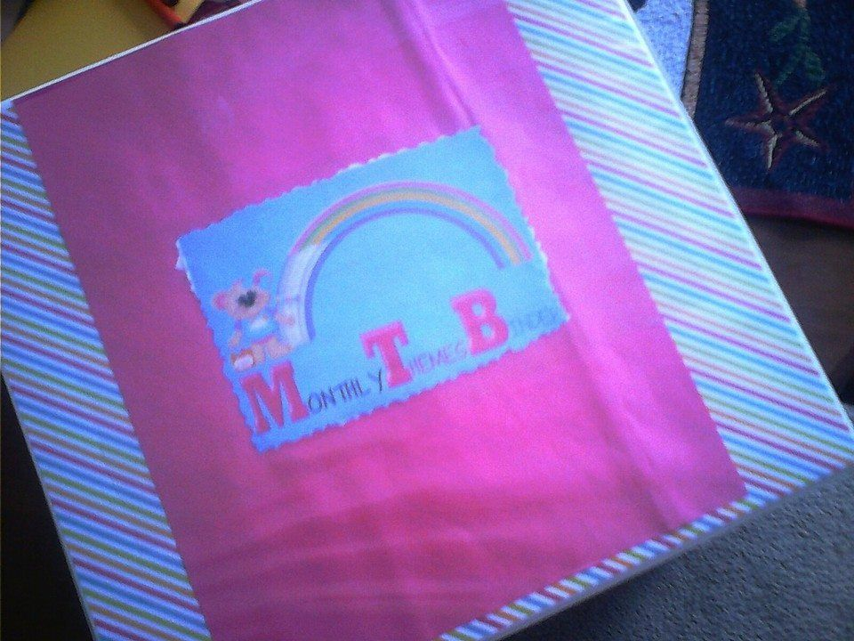 Monthly Themes Binders~ a section for each season