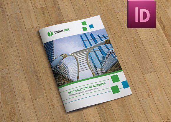 InDesignBrochure TemplatepagesV By Template Shop On - Adobe indesign brochure templates