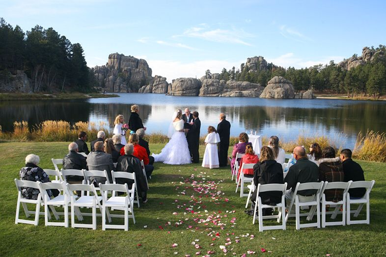 What Our Wedding Venue Will Look Like At Sylvan Lake In Custer State Park Sd Just Beautiful