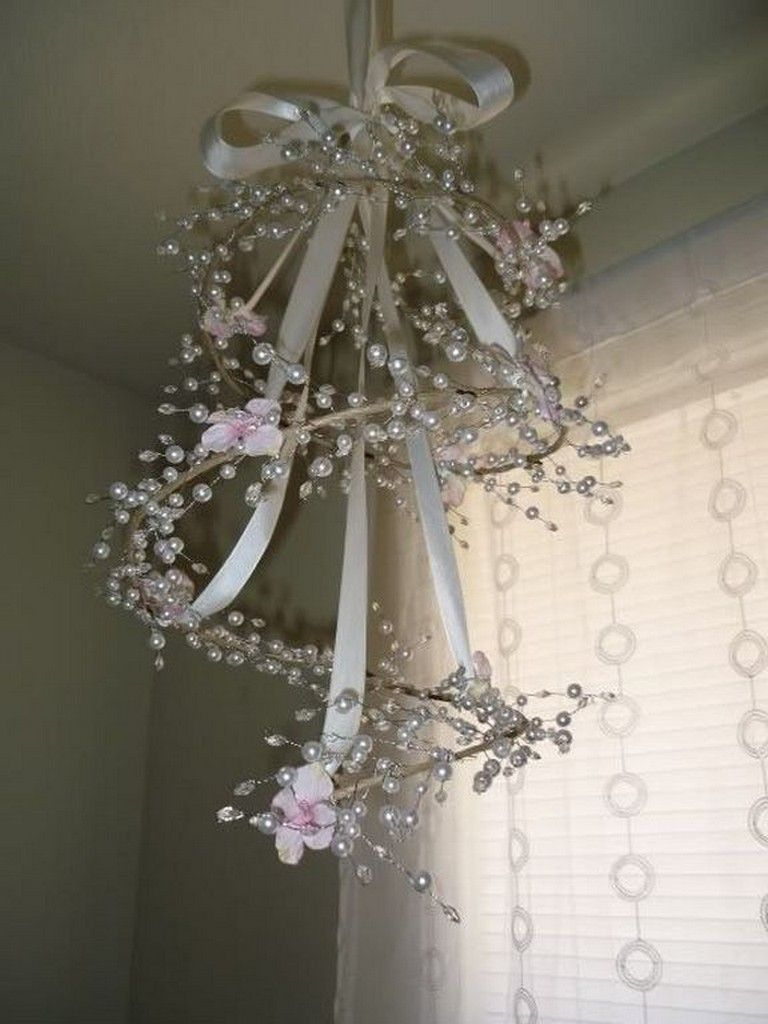 23+ Cool Shabby Chic Bedroom Decorating Ideas Sweet Lamps images