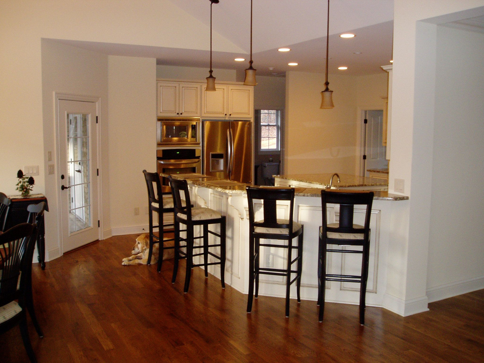 Kitchen Design Breakfast Bar Kitchen Breakfast Bar Wood Panels Adjoining Drywall Kitchens