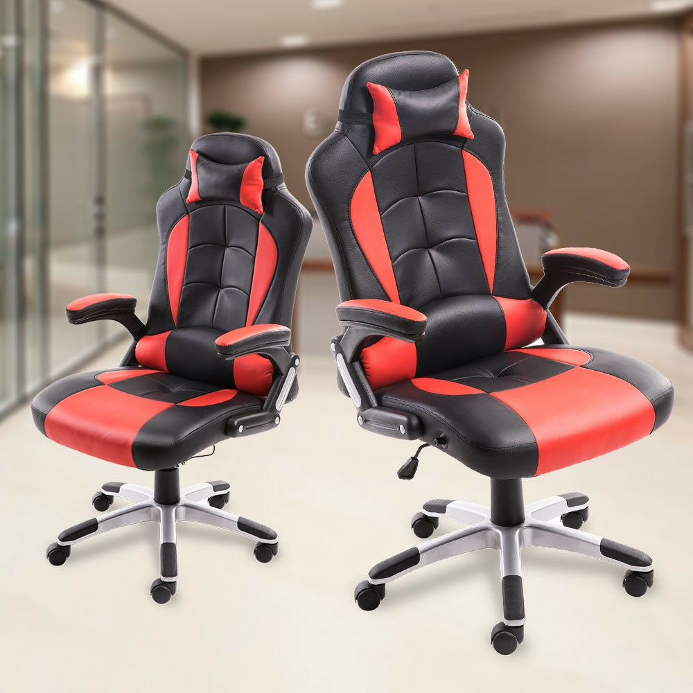 Stupendous Details About High Back Gaming Office Chair Racing Car Frankydiablos Diy Chair Ideas Frankydiabloscom