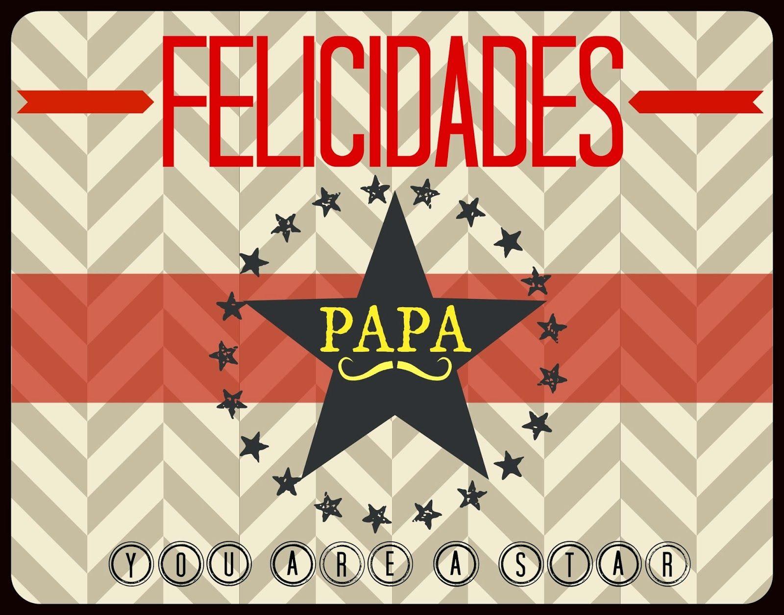 Imprimible gratis tarjeta día del padre www ...