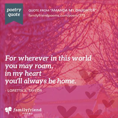 An Angel Left Her Wings, Daughter Poem | Celebrating Your Life ...