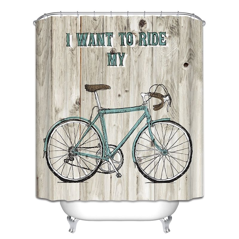 Google Image Result For Https Ae01 Alicdn Com Kf Htb1n0rwg7owbunjssppq6xpgpxa6 Bicycle Shower Curtain Butterfly In 2020 Bathroom Curtains Bathroom Fan Butterfly Tree