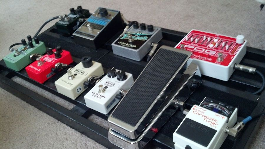 Pedal Line Friday 5/3 Steve Thompson Pedal Boards