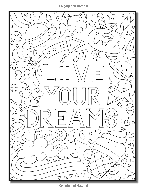 Amazon Com Emoji Coloring Book For Girls Of Funny Stuff Inspirational Quotes Super Cute A Quote Coloring Pages Coloring Books Coloring Pages Inspirational