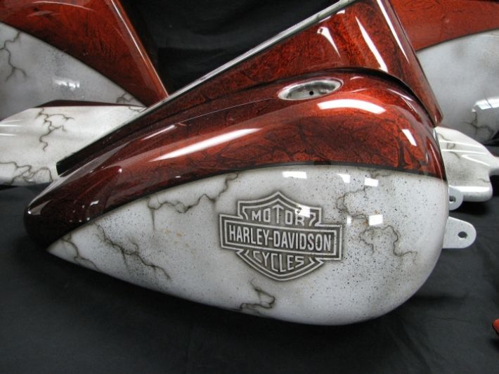 Pin By Amy Withington On Motorcycle Ideas Custom Paint Motorcycle Road King King Painting