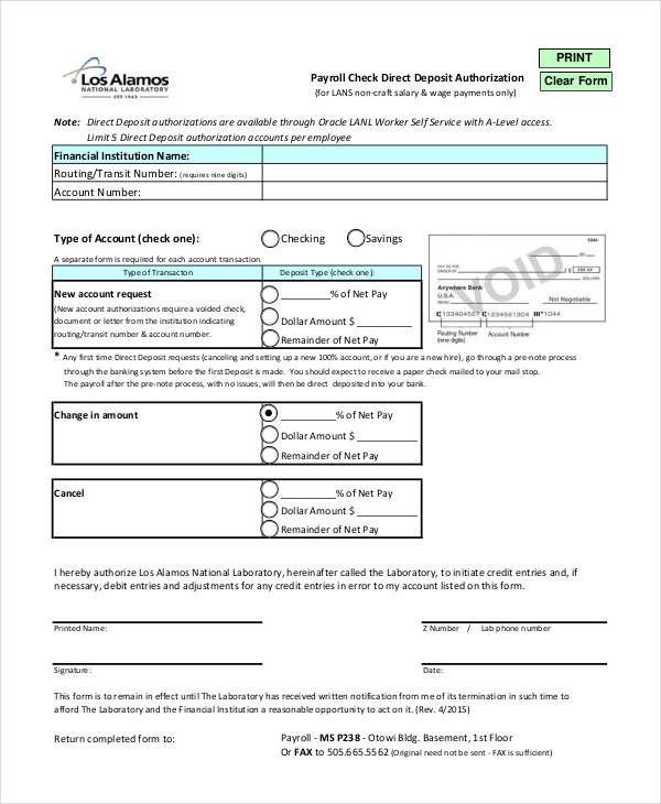 10+ Free Payroll Check Templates MS Word, Excel & PDF