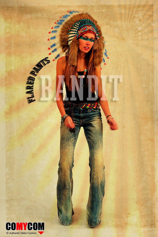 Pin Auf Damen Jeans Schlaghosen Women Jeans Flare Pants By
