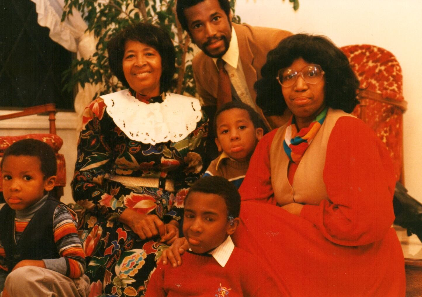 Dr Ben Carson And His Family