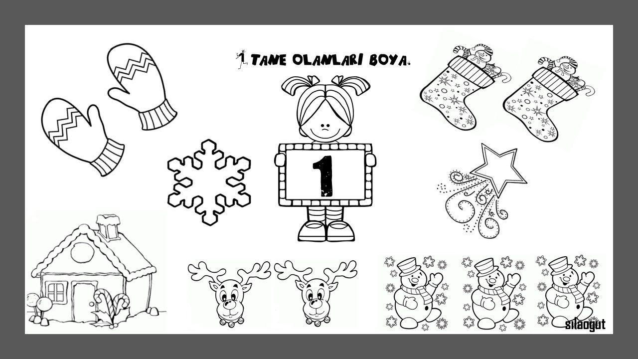Okul Oncesi 1 Boyama Ust Ev Boyama Sayfasi