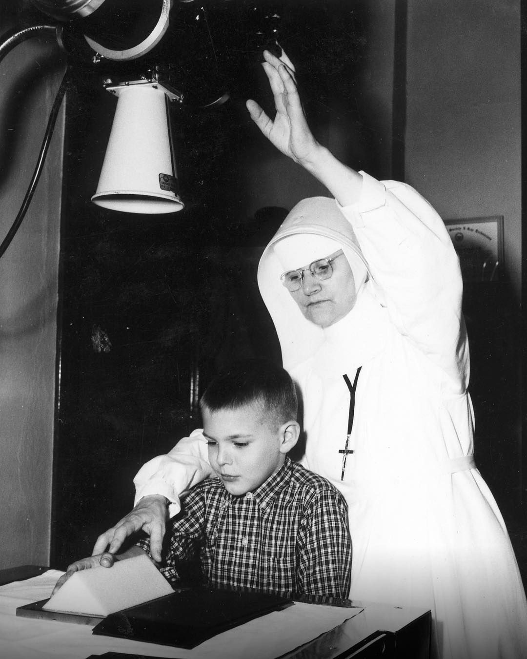In 1957, Sister Margaret Mary Suppiger, R.T.(R), was the