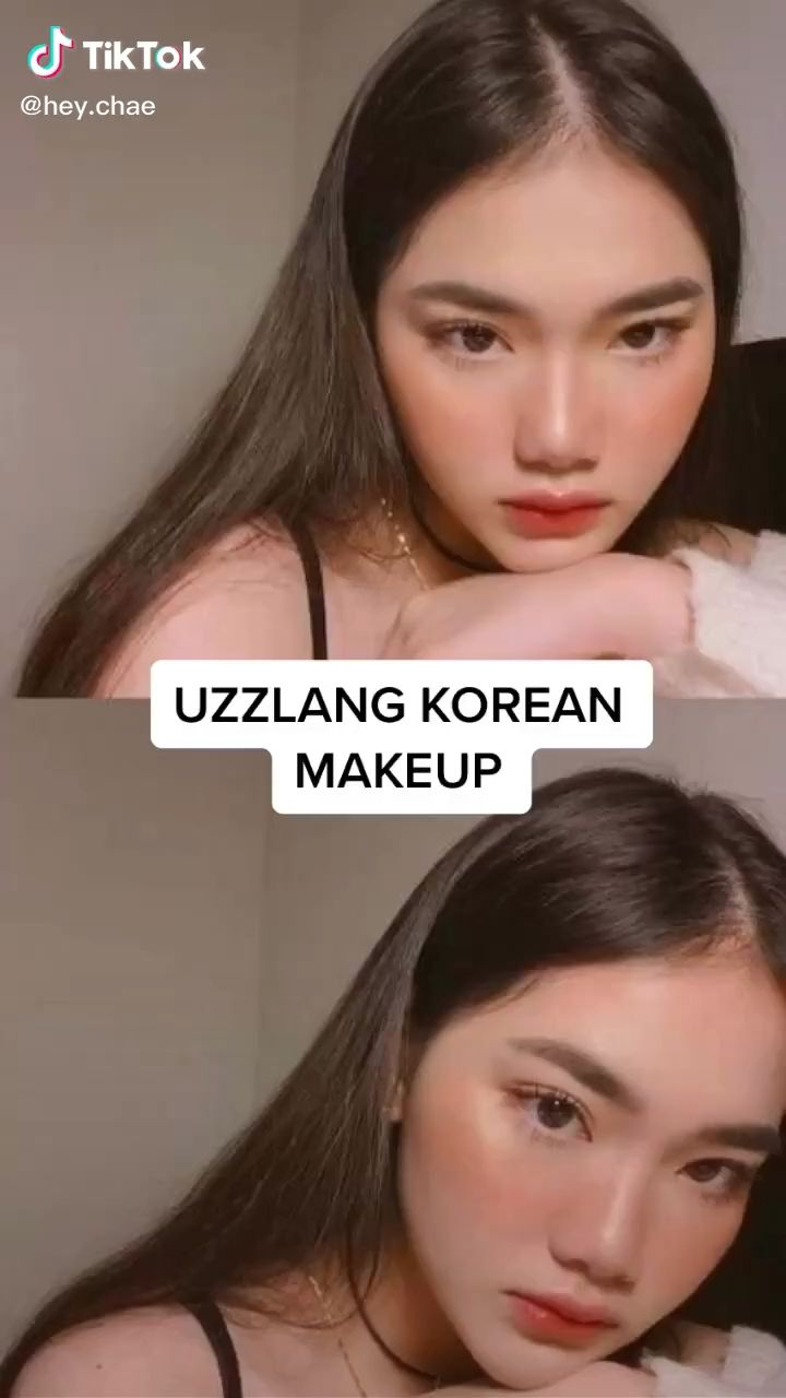Easy Korean Ulzzang Makeup Tutorial Tiktok Video Ulzzang Makeup Tutorial Korean Makeup Tips Ulzzang Makeup