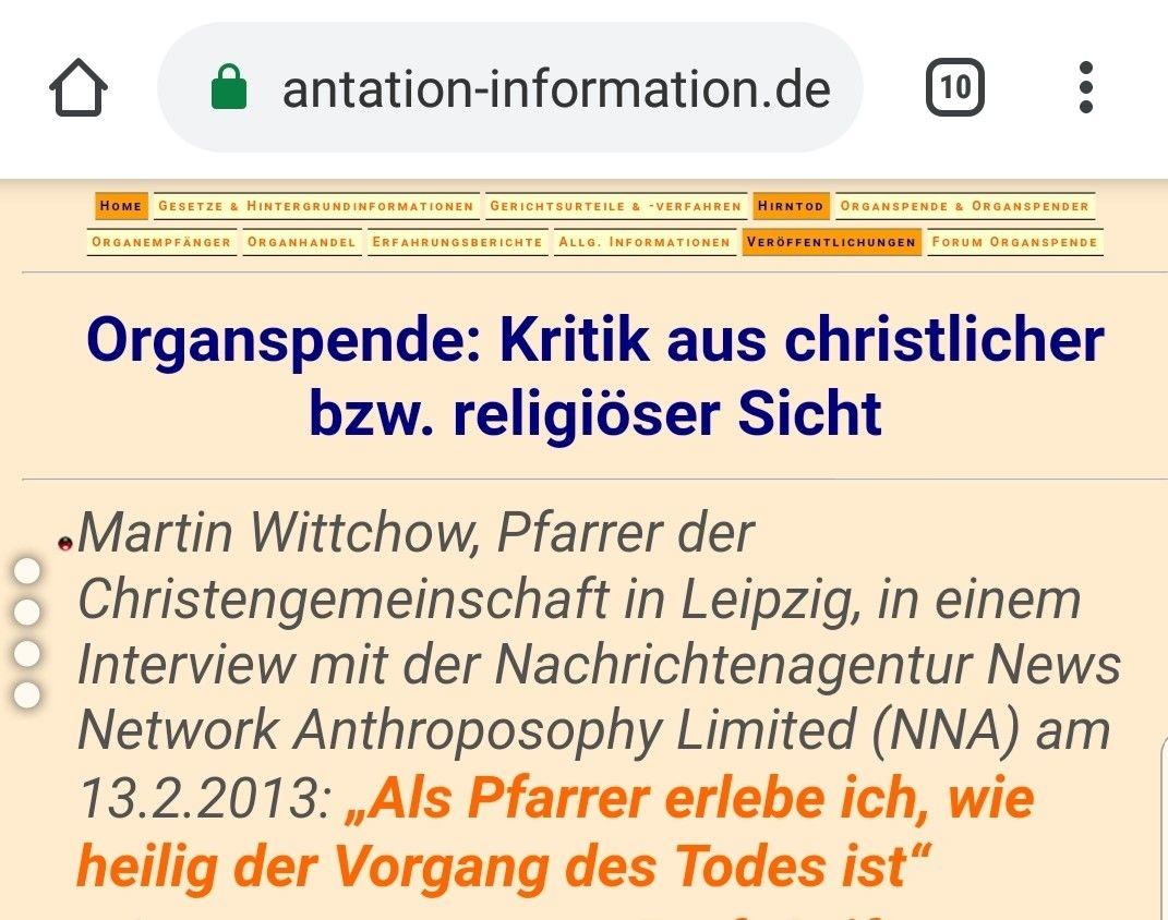 Kritik Aus Christlich Bzw Religioser Sicht Organspende
