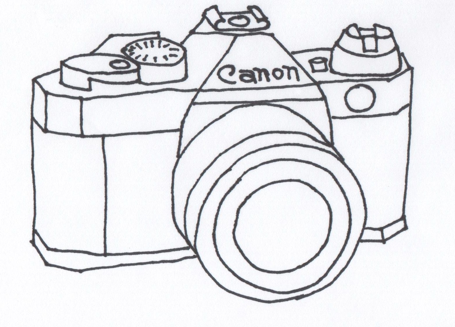 Vintage Camera Drawing | ... the crafty cpa: return on creativity ...