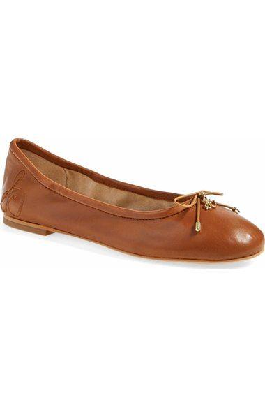 461ff78ff5e15b Leather · Sam Edelman  Felicia  Flat in Saddle ...