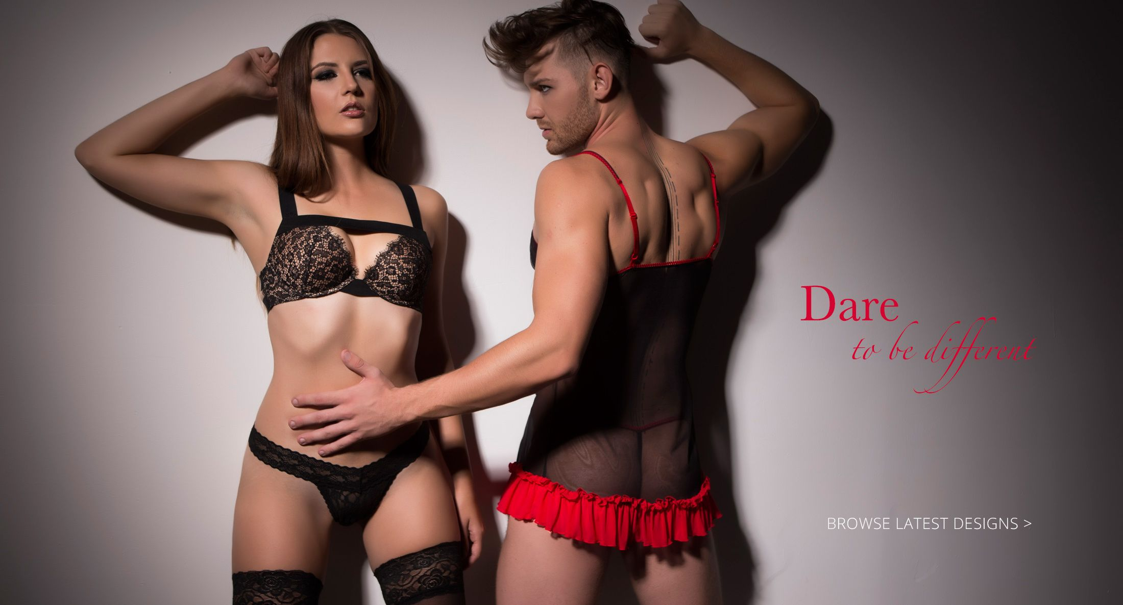 Erotic lingerie for men