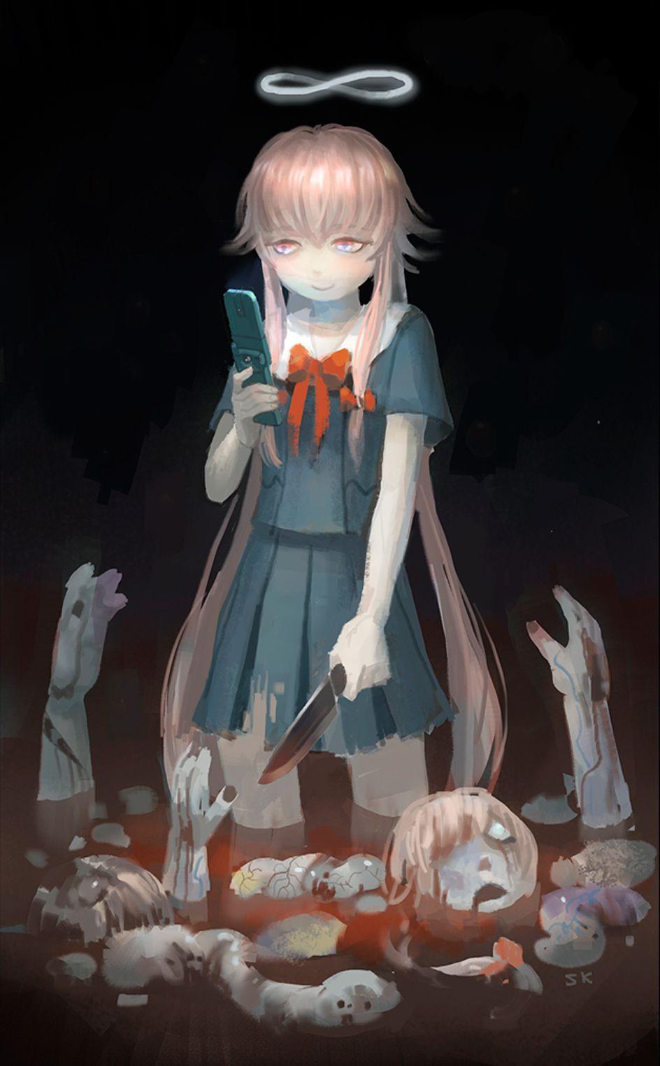 Log In Tumblr Gasai Yuno Anime Mirai Nikki