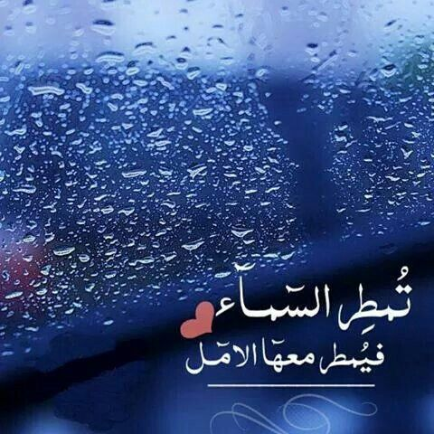 Pin By عاشقة الورد On همس الكلام Rain Quotes Cool Words Amazing Quotes