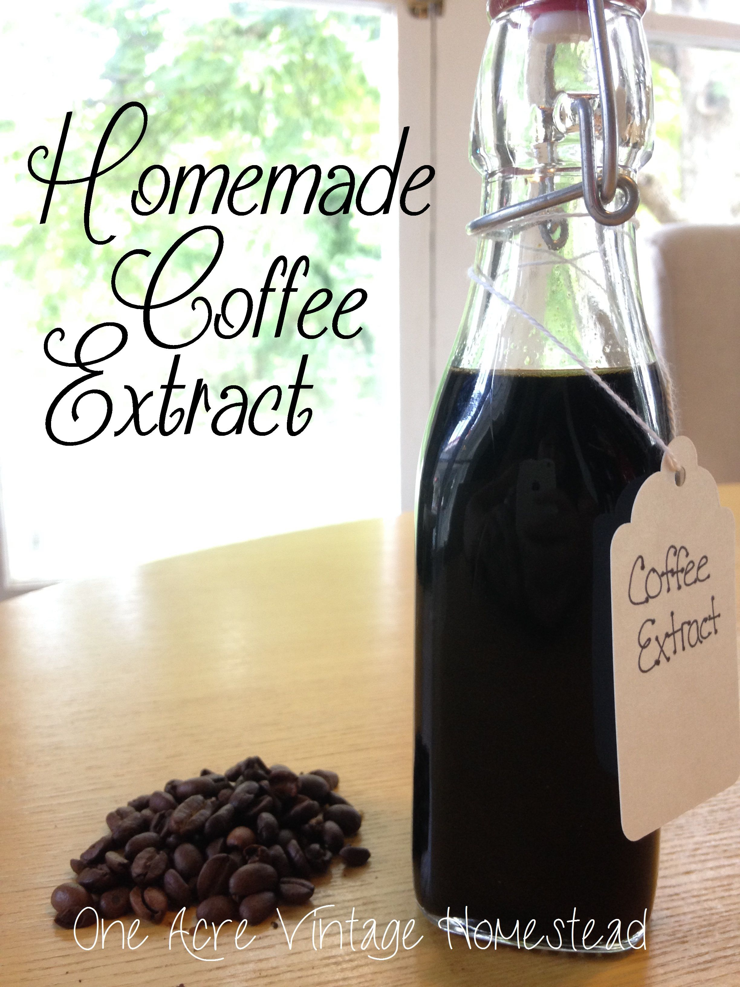 Coffee Bean Extract * One Acre Vintage Homestead-Pumpkin Patch Mountain