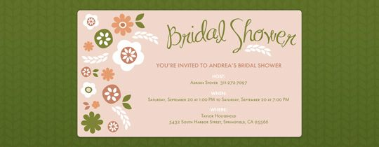 Bridal shower free online invitations bridal shower pinterest bridal shower free online invitations filmwisefo Image collections