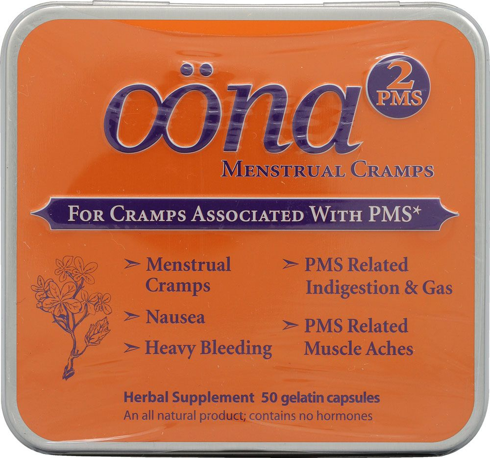 Oona PMS2 Pms, Gelatin capsules, Herbalism