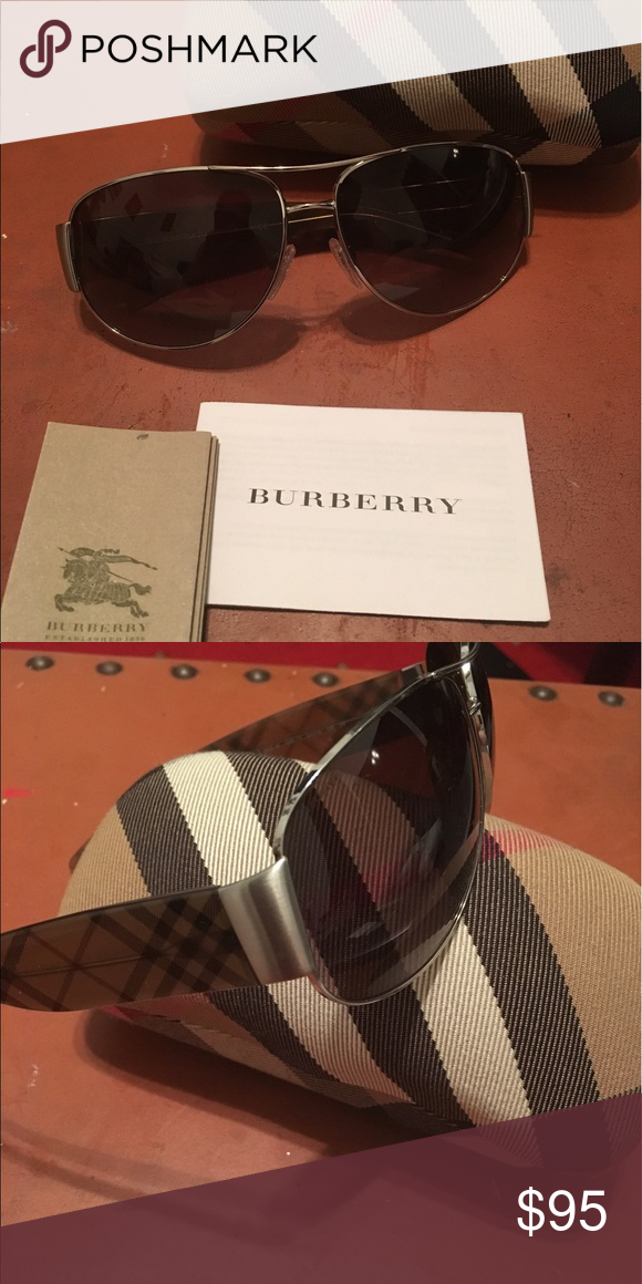 a2e6d2f4024 Burberry sunglasses Unisex authentic Burberry sunglasses with the original  case. Perfect for the summer time. Burberry Accessories Sunglasses