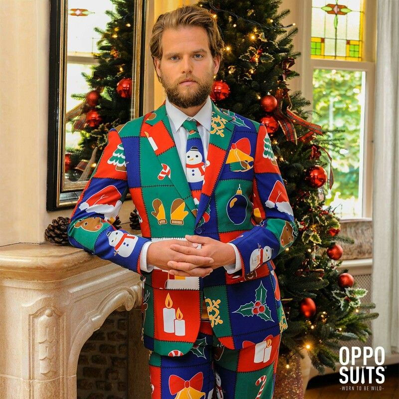 Christmas Jumper Party: Great Suit From Opposuits