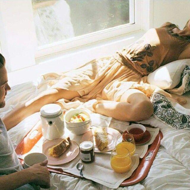 Un dimanche matin parfait #sundaymorning #breakfastinbed ...