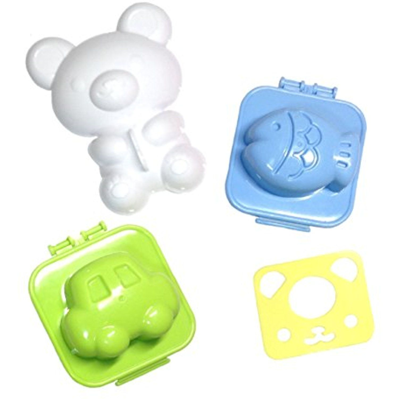 bento box decorating kit kids bento decoration kit rice mold bear