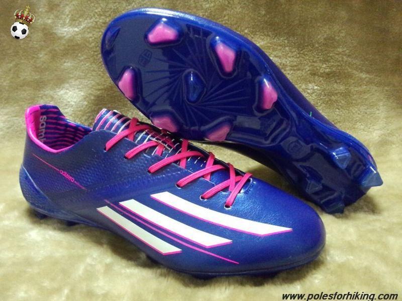 Contaminar Virus Mal  b658445648 pink white blue adidas f50 adizero trx ag nike football ...