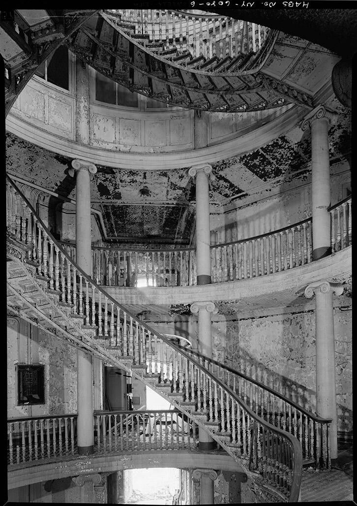 Interior first floor staircase and gallery welfare