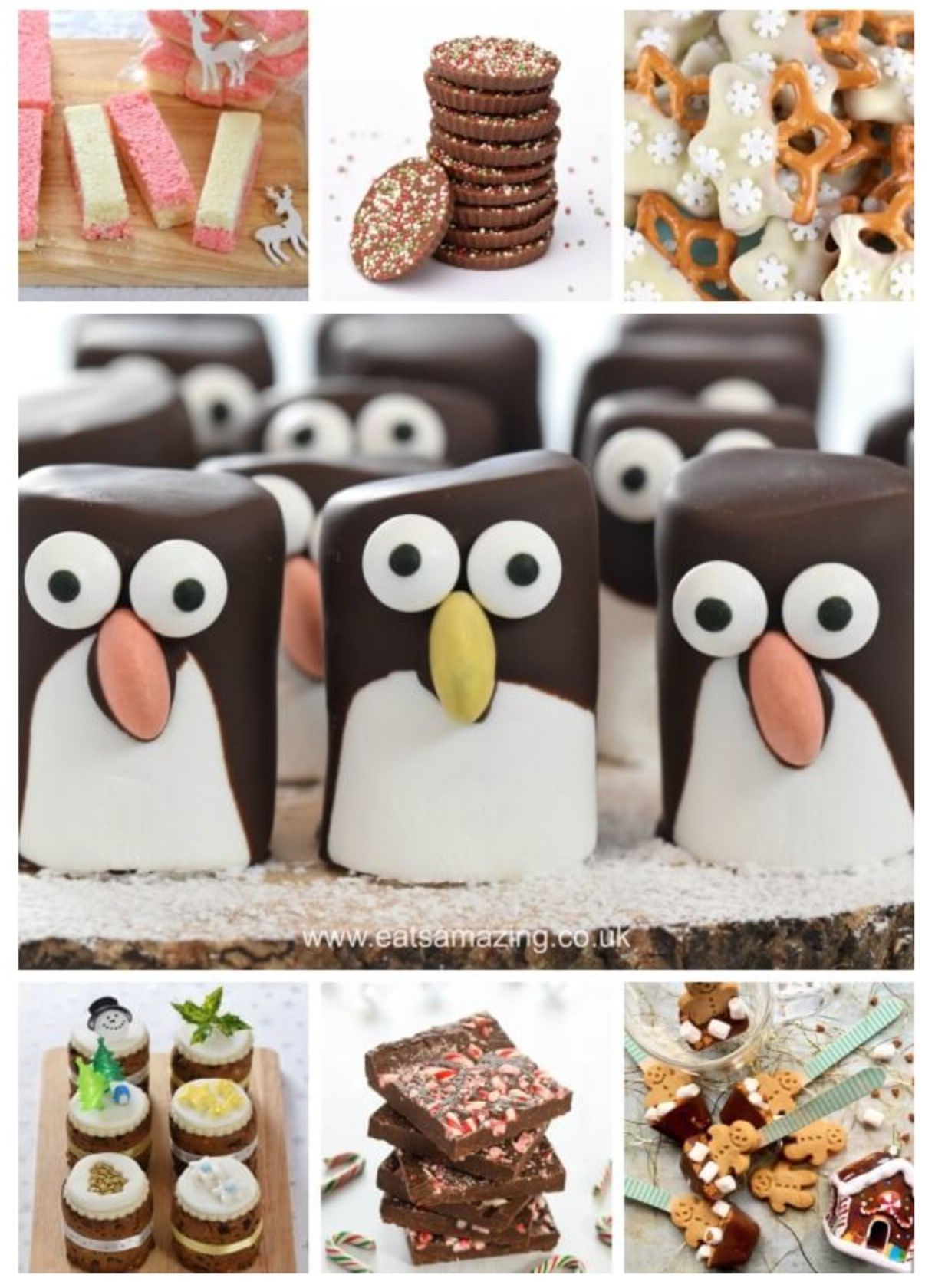 30 easy edible gifts for Christmas by Eats Amazing https