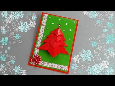 Handmade christmas greeting card making ideas diy cards diy this tutorial video on how to make a christmas card new year card handmade christmas greeting card making ideas m4hsunfo