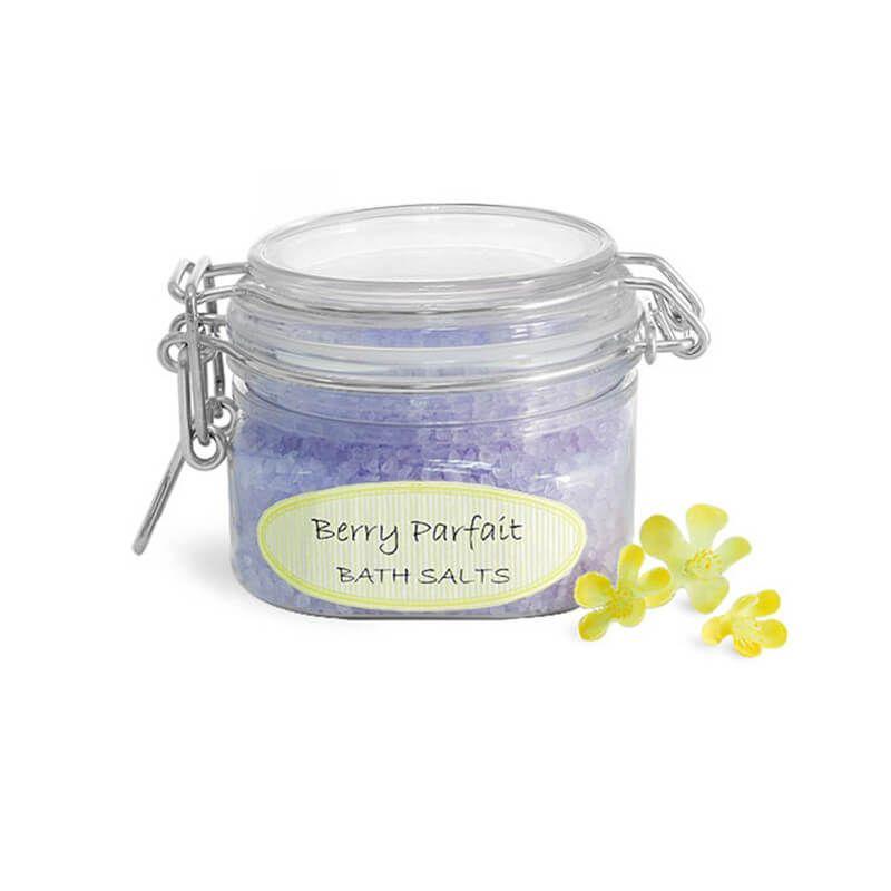 Plastic Bath Salt Wire Bale Jars Wholesale Sales Oshaka Com Bath Salt Jars Bath Salt Containers Bath Salts