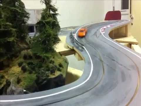 3rd Wood Slot Car Track Circuit Gilles Villeneuve TESTING